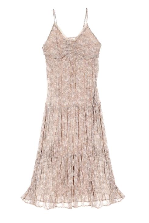 vestido vaporoso (36,90 euros)